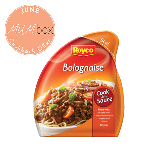 Royco Bolganaise Cook In Sauce