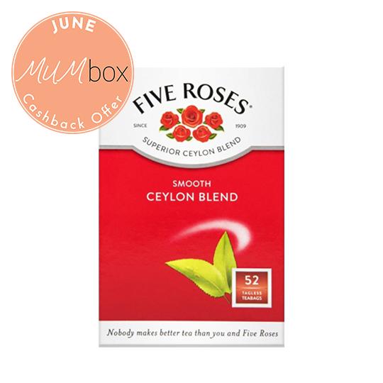 five roses tagless tea bags