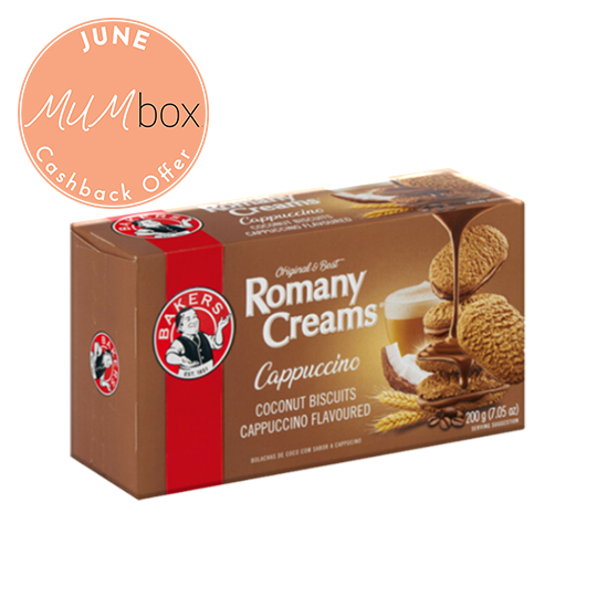 romany creams cappachino biscuits