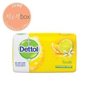 dettol fresh soap bar