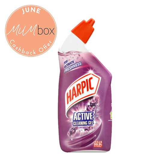 harpic lavender cleaning gel