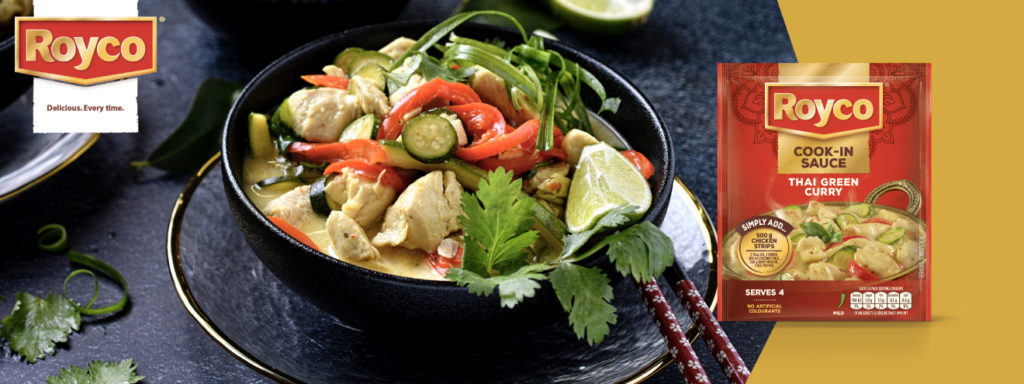 Thai Green Curry Recipe [Royco Curry Cook in Sauce]
